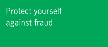 Protect yourself agains fraud